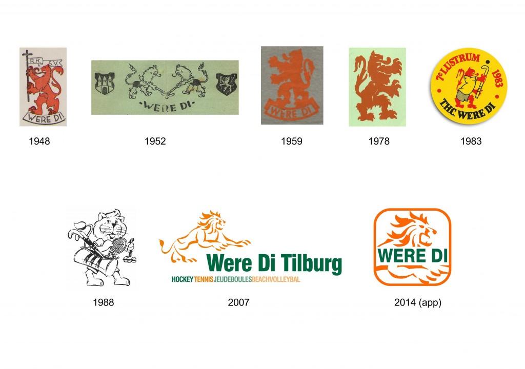 oude logo's