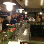 Aan de bar bij PVT november 2015