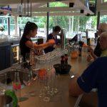 De bar tijdens JdB-toernooi 2016