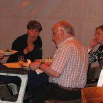 Vlnr: Elly van Greunsven, Snjezana Maijevic, Wim van den Berg (†) en Annie Vissers