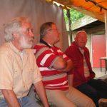 John Stijns (†), Piet Verkuijlen en Nos Mommers