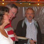 Vlnr: Anita Renard, Piet Verkuijlen en Bernard van Schijndel