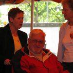 Hanny en Ton Klomp (†) met Miep Sikkema