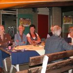 Vlnr: Frits de Charro, Will Verkuijlen, Marja Kleis, Jacqueline Smits en José de Charro