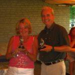 Winnaars Irene en Ton
