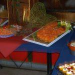 Een heerlijk buffet op de slotdag