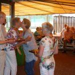 Felicitaties van Jos Peij en Miep Sikkema voor de winnaressen