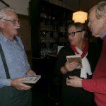Vlnr: Jan Maijen, Lilian van Gorp en Jos Peij
