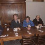 Vlnr: Frans de Charro, Frans van Doorn, Liesbeth Koetje en Henk de Grooth