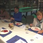 Vlnr: Jan Maijen, Kitty en Hans Seebregts en Marie-Louise van Sprang