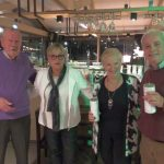 Vlnr: Jos Peij, Lilian van Gorp en 2e prijswinnaars Hanny Klomp en Ton van Schijndel