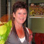 1e prijswinnares Marja Kleis op Slotavond 2008