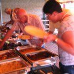 Prima buffet op Slotavond 2009