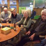 Vlnr: Frans en José de Charro, Hanny Klomp, Jos Michielsen en Henk Duits