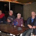 Vlnr: Hans Seebregts, Jan Maijen, Francien van Geffen en Frits de Charro