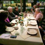 Vlnr: Albert de Jong, Kitty Seebregts, Frits de Charro, Jeannette van Riel en Rikie