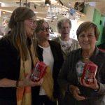 De poedelprijs ging naar Josette van Heck en Marie-Louise van Sprang.